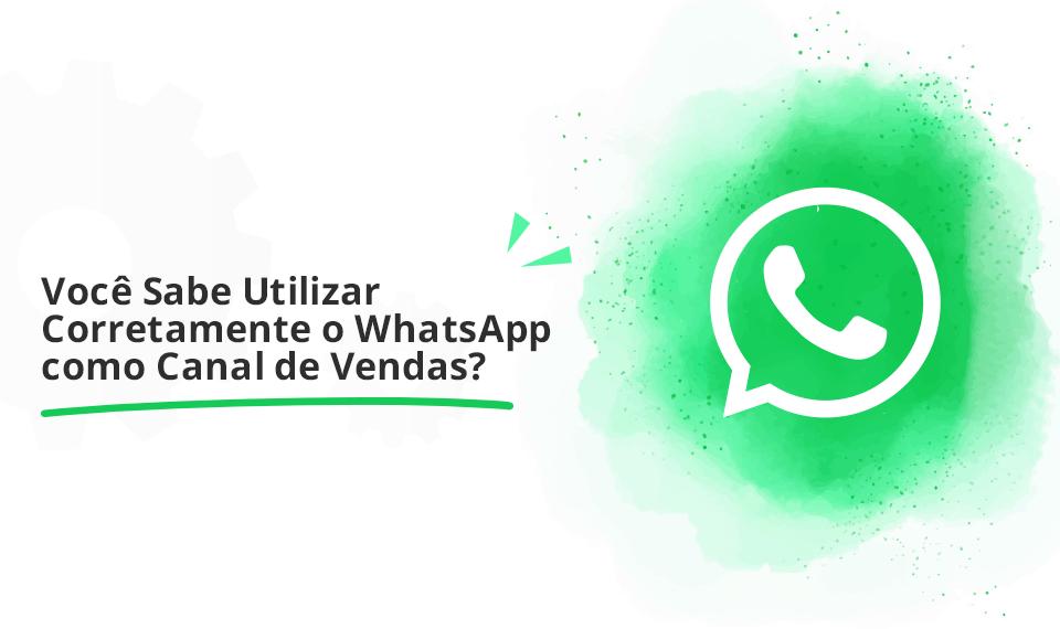 whatsapp canal de vendas