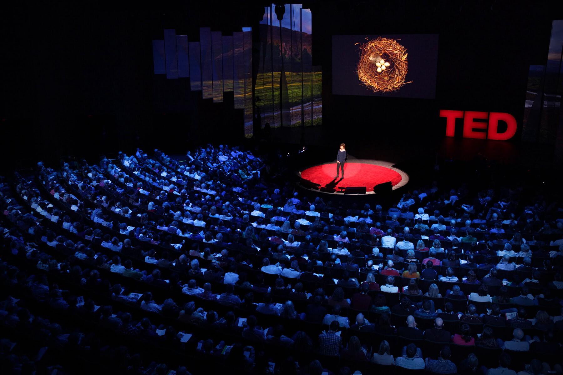 palco do Ted Talks
